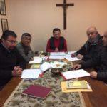 Primera reunión de nuevo Consejo del Visitador C.M.